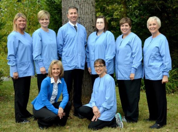 Staff of Eric Batterton DDS, Delaware, Ohio